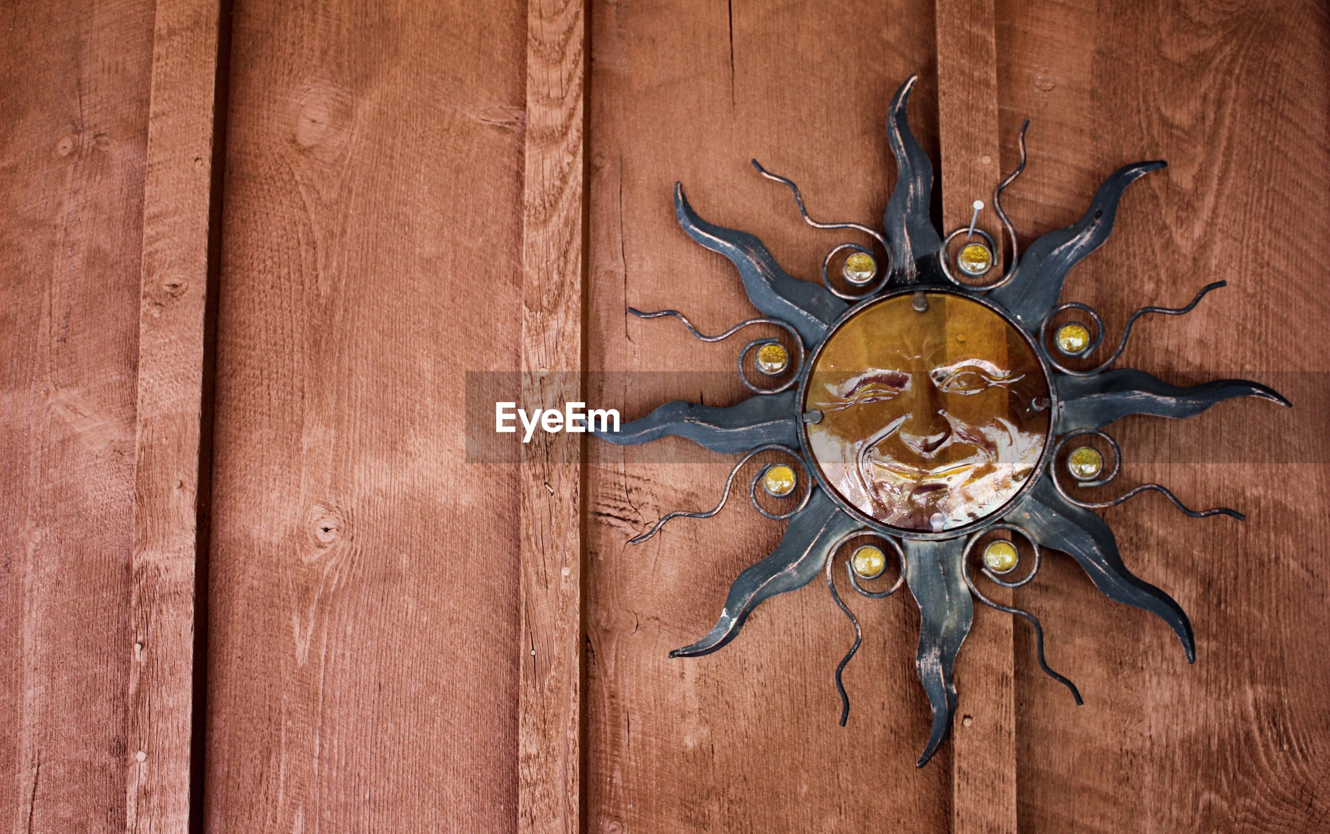 Close-up od decoration on wall