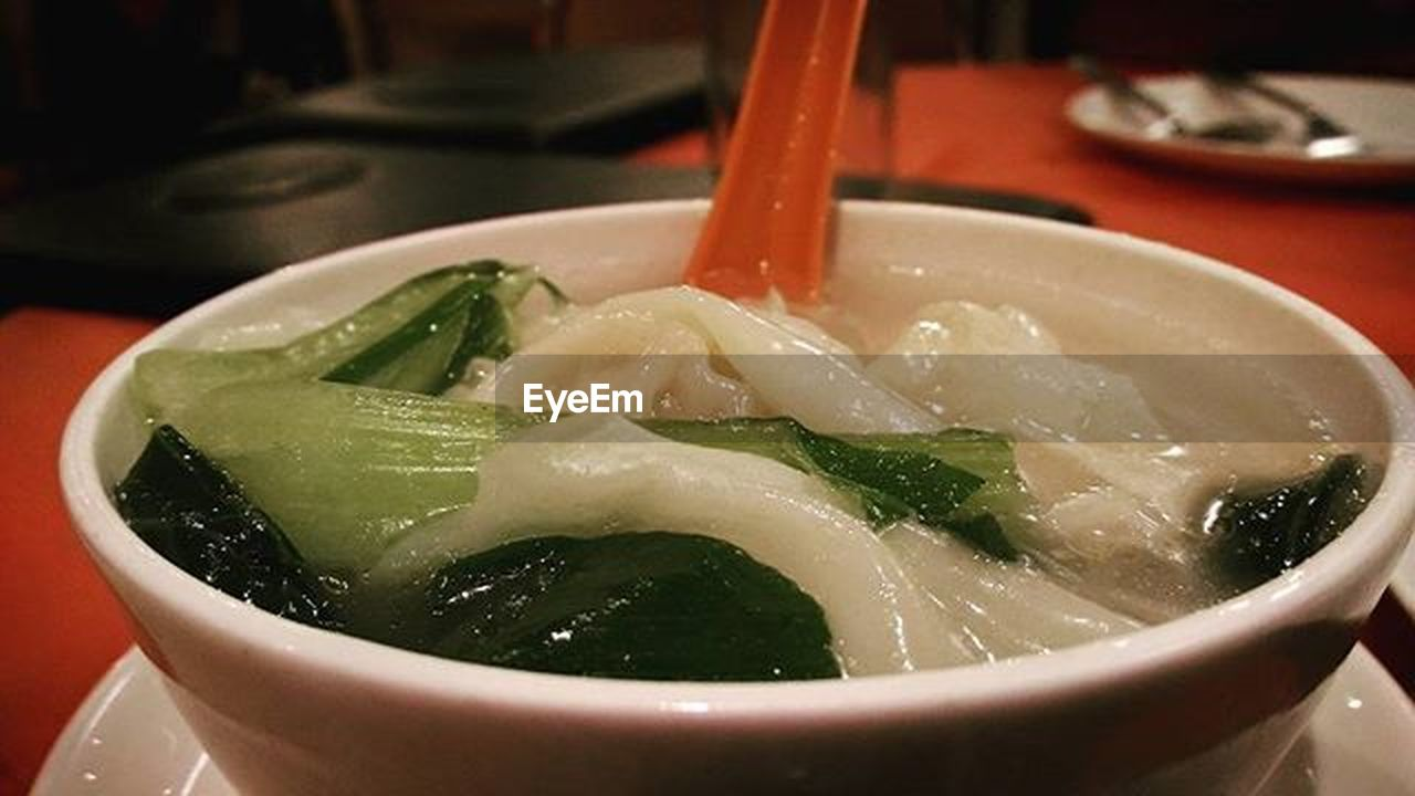 soup, food and drink, bowl, indoors, no people, food, freshness, healthy eating, close-up, water, day, ready-to-eat