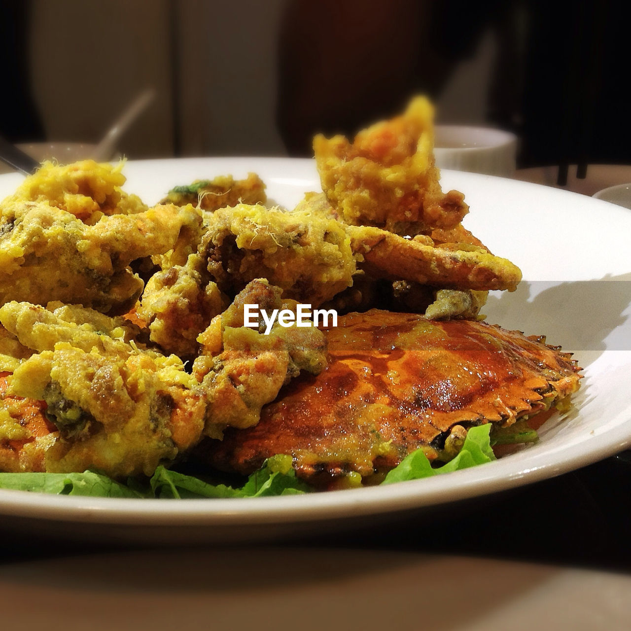 Close Up Of Deep Fried Food