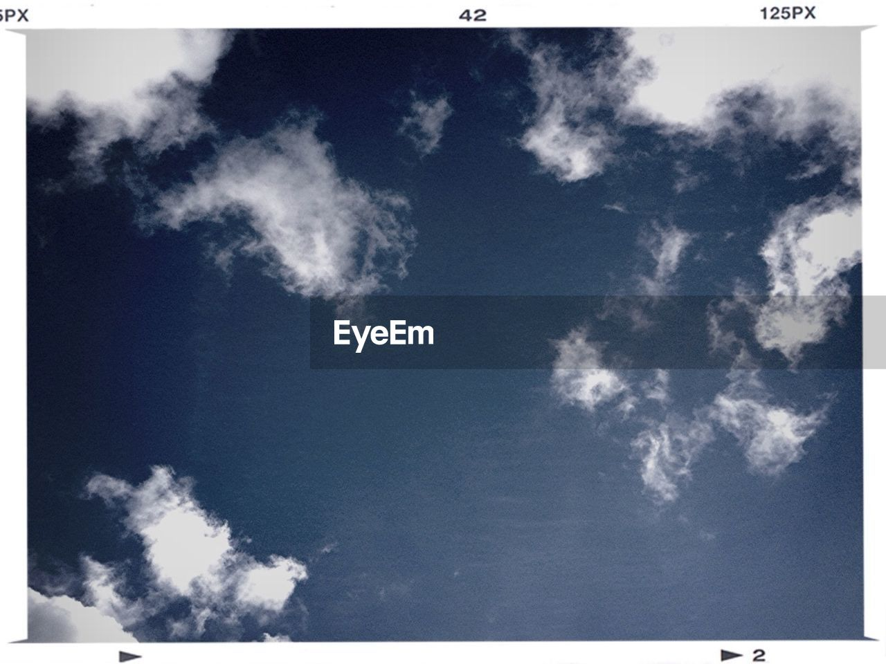 View of blue sky and clouds