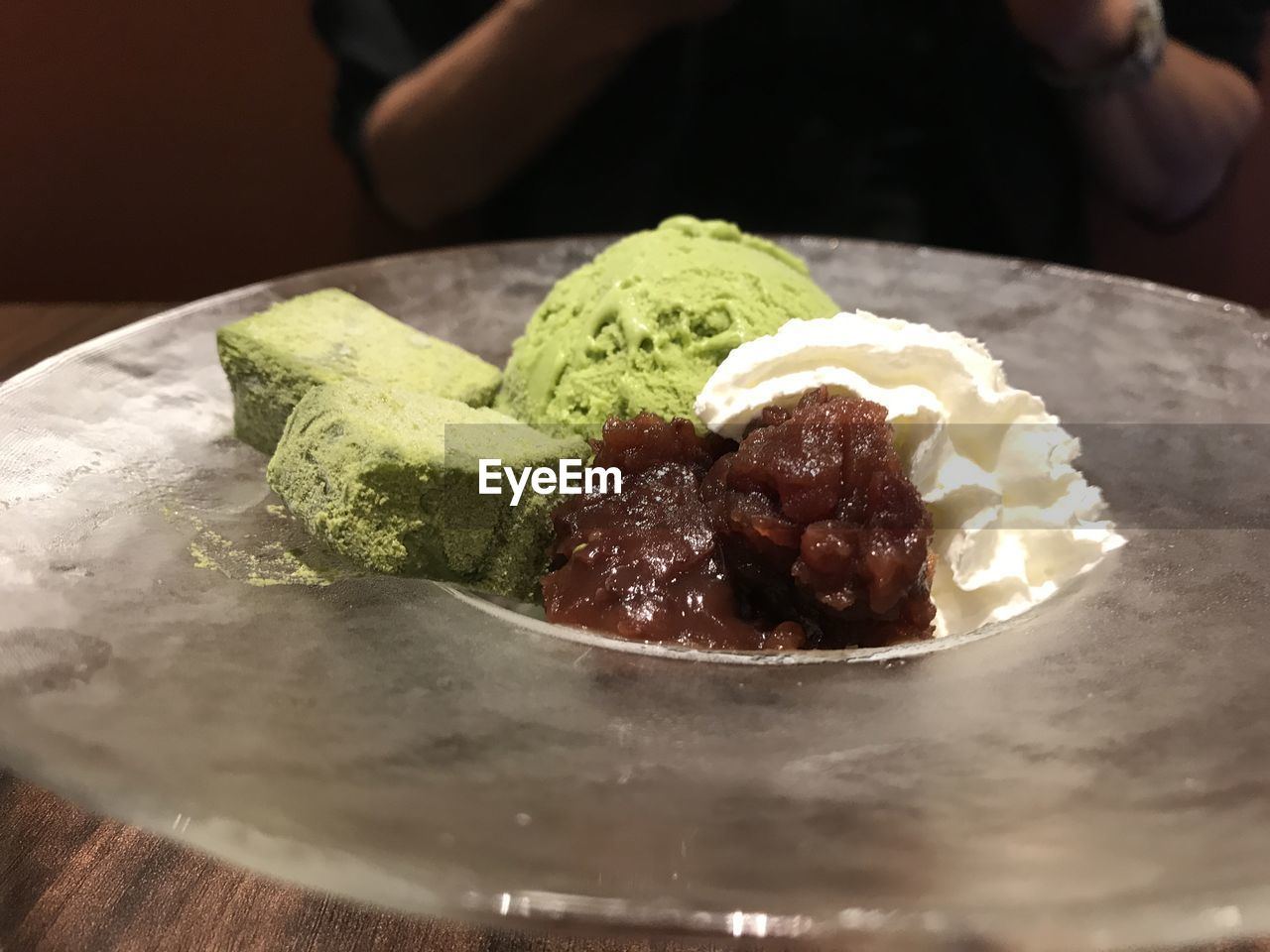 food and drink, food, freshness, ready-to-eat, plate, indulgence, close-up, sweet, table, dessert, indoors, sweet food, temptation, ice cream, serving size, still life, unhealthy eating, frozen food, selective focus, dairy product