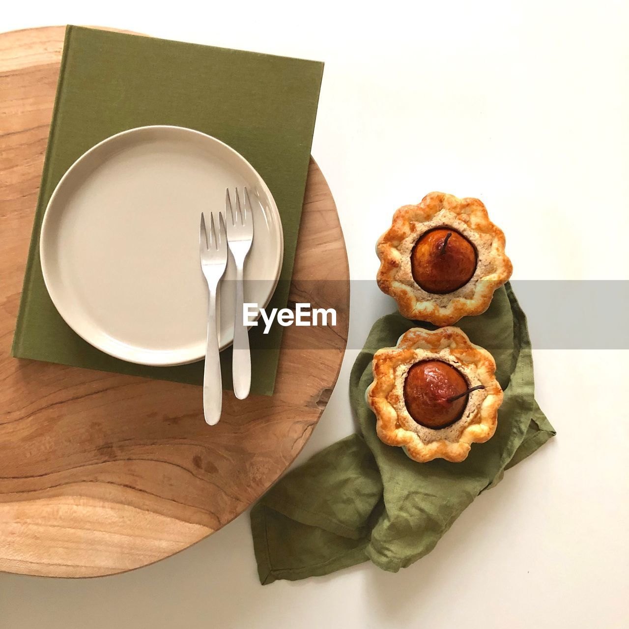 food and drink, food, table, high angle view, ready-to-eat, kitchen utensil, indoors, plate, still life, eating utensil, freshness, fork, directly above, no people, household equipment, knife, unhealthy eating, table knife, fast food, vegetable, meal, crockery, snack, temptation, breakfast