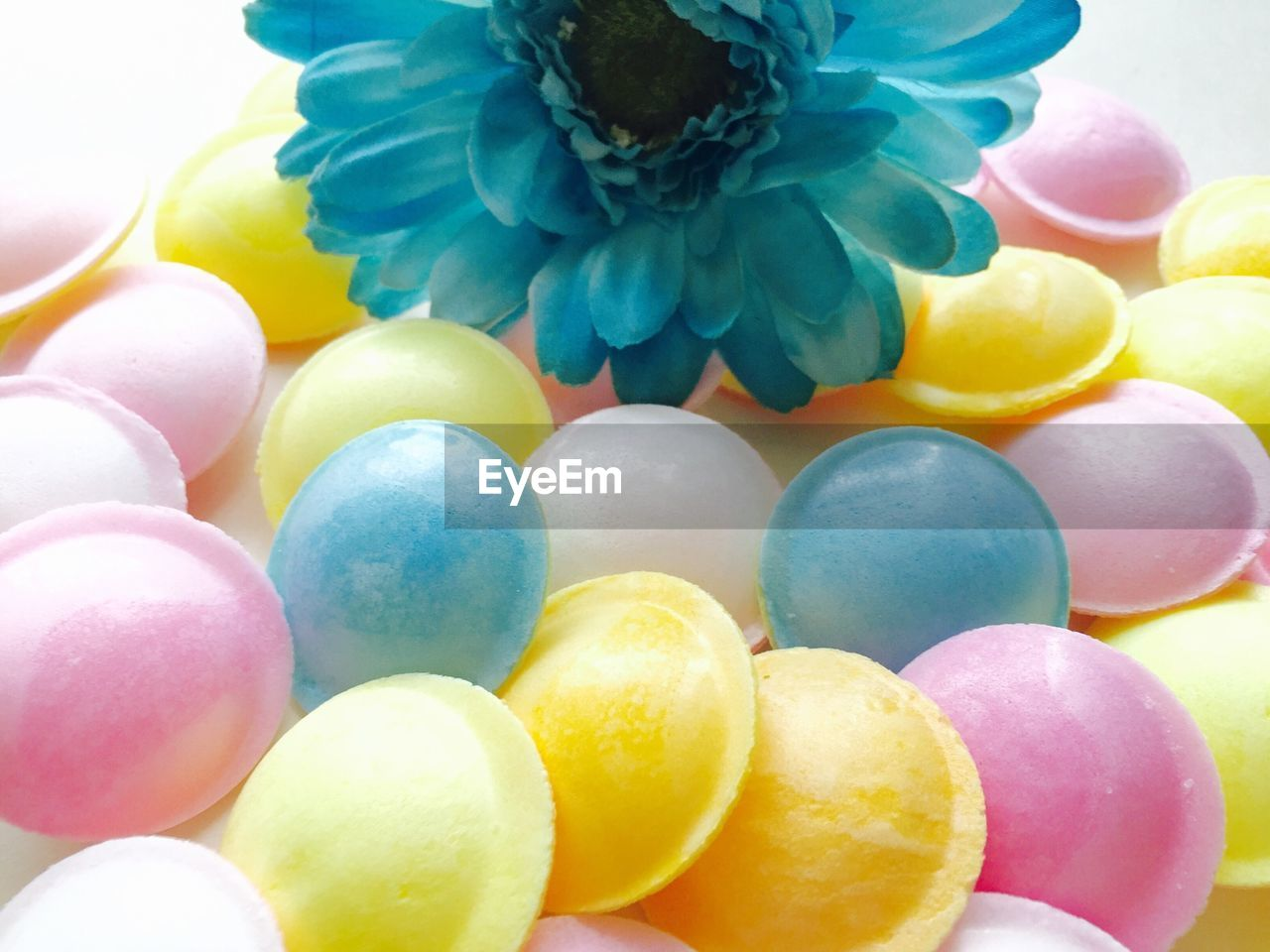 multi colored, celebration, easter, no people, food, balloon, close-up, sweet food, indoors, flower, freshness, day