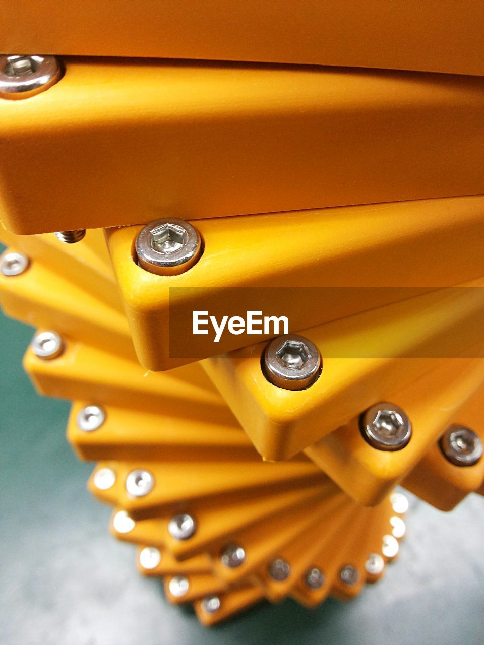 Close-Up Of Yellow Plastic