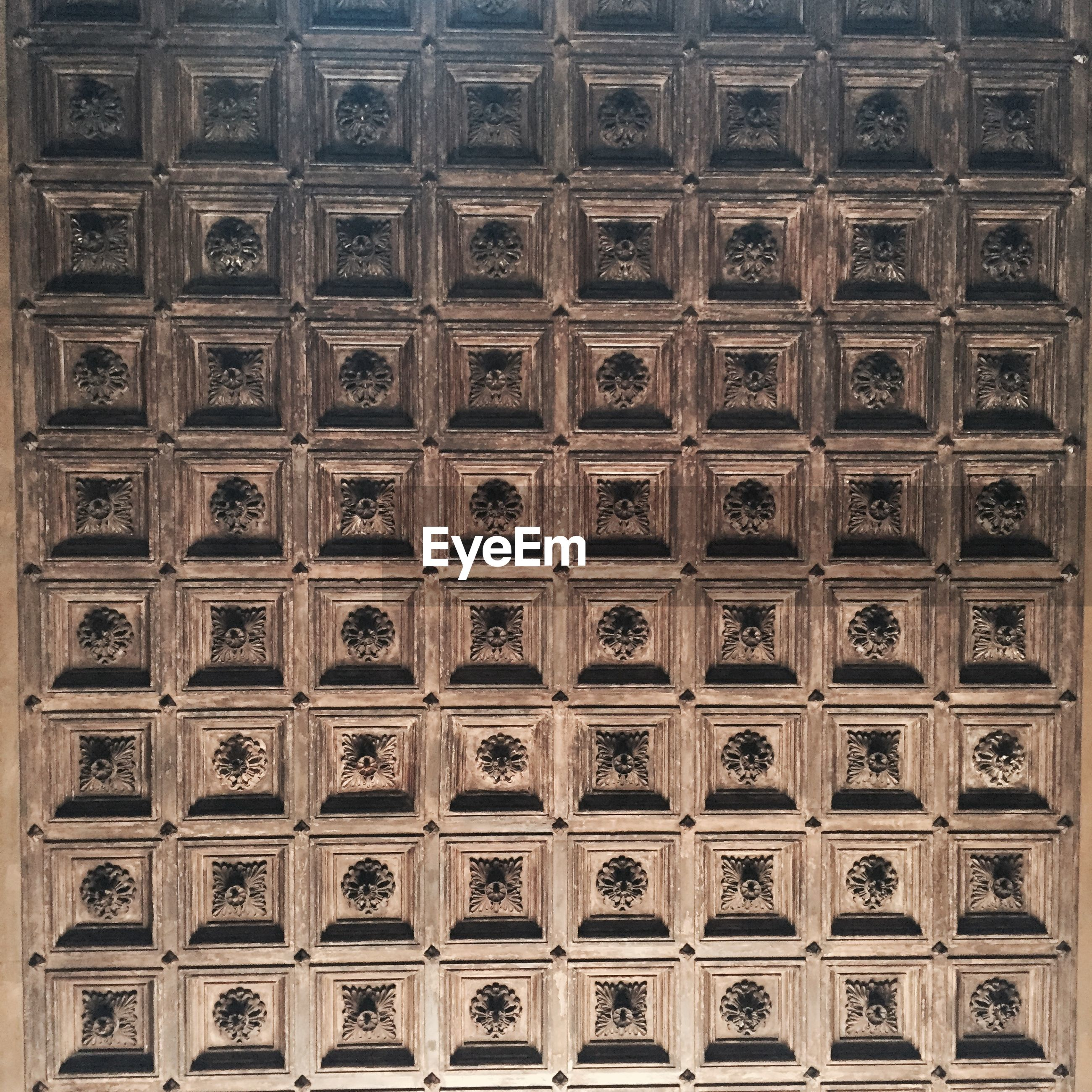 Architectural detail of wooden wall