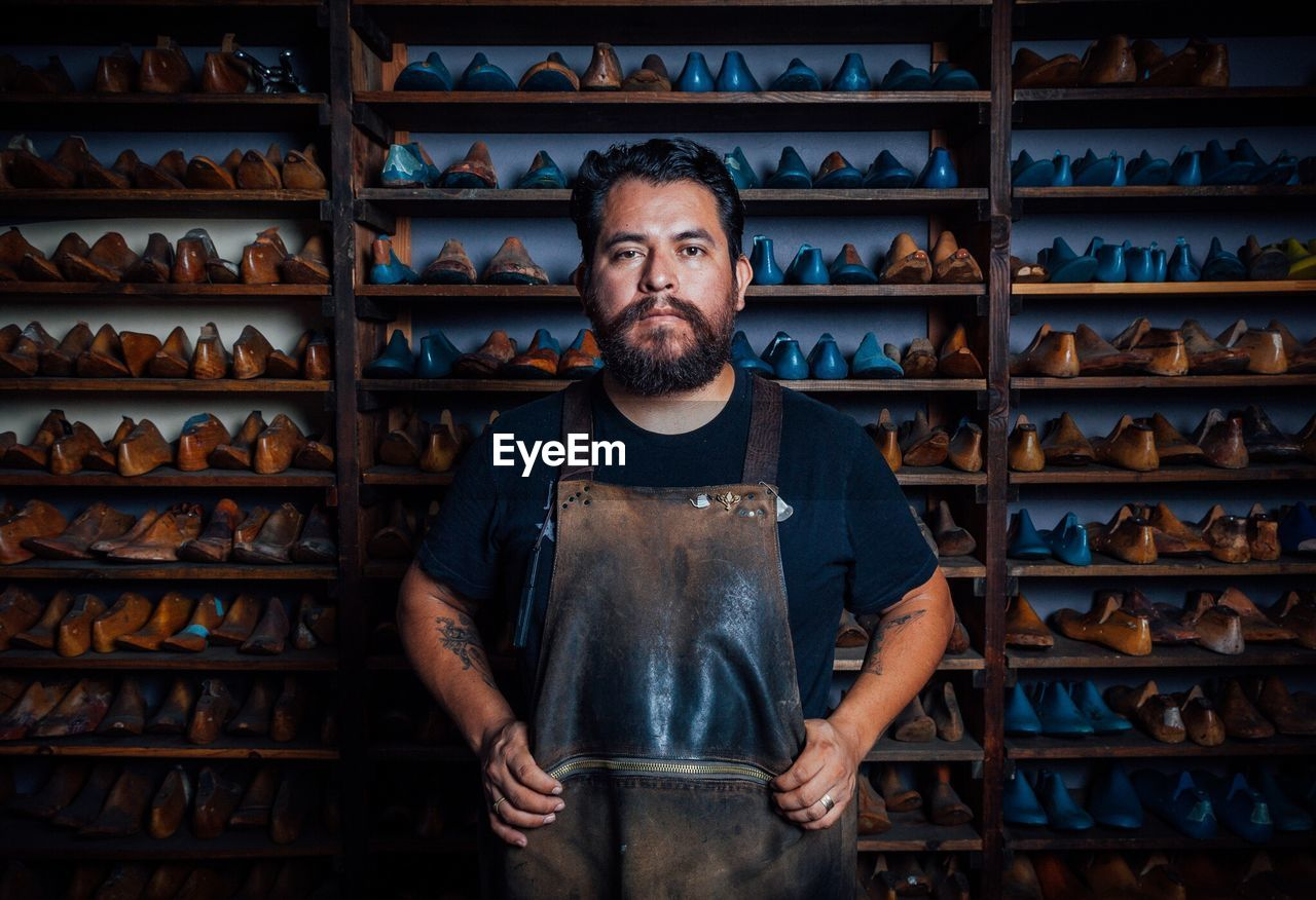Portrait Of Shoemaker