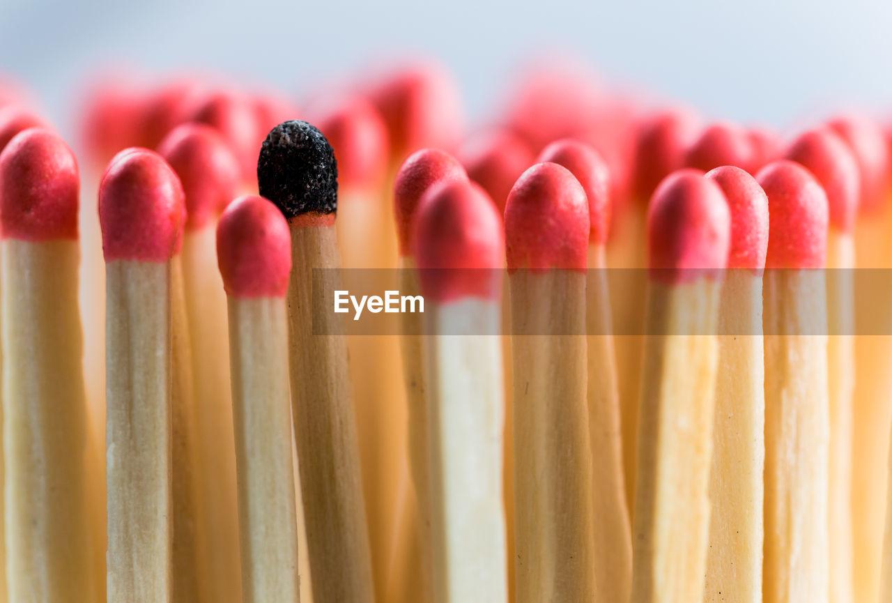 Close up of matchstick