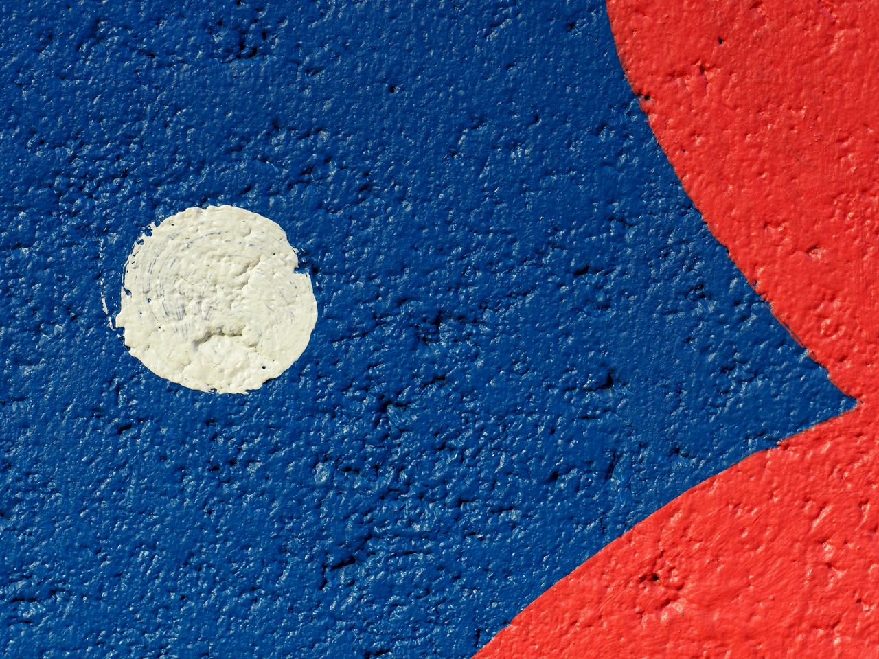 blue, textured, no people, close-up, architecture, red, backgrounds, white color, wall - building feature, multi colored, built structure, full frame, day, yellow, outdoors, vibrant color, paint, sign, rough, road, concrete