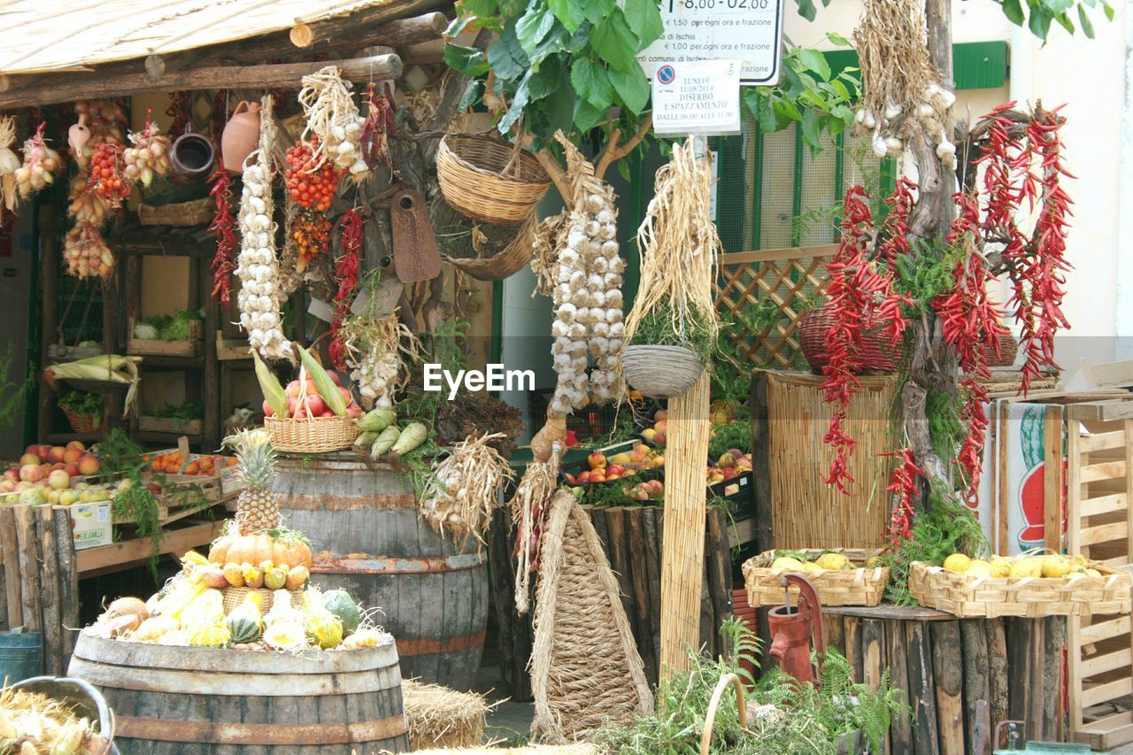 Variety Of Food For Sale
