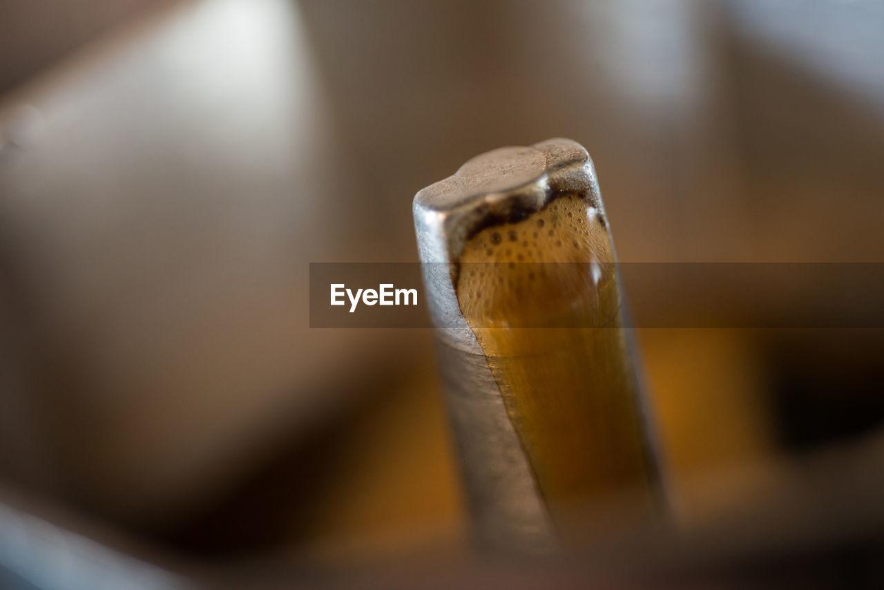 Close-up of espresso