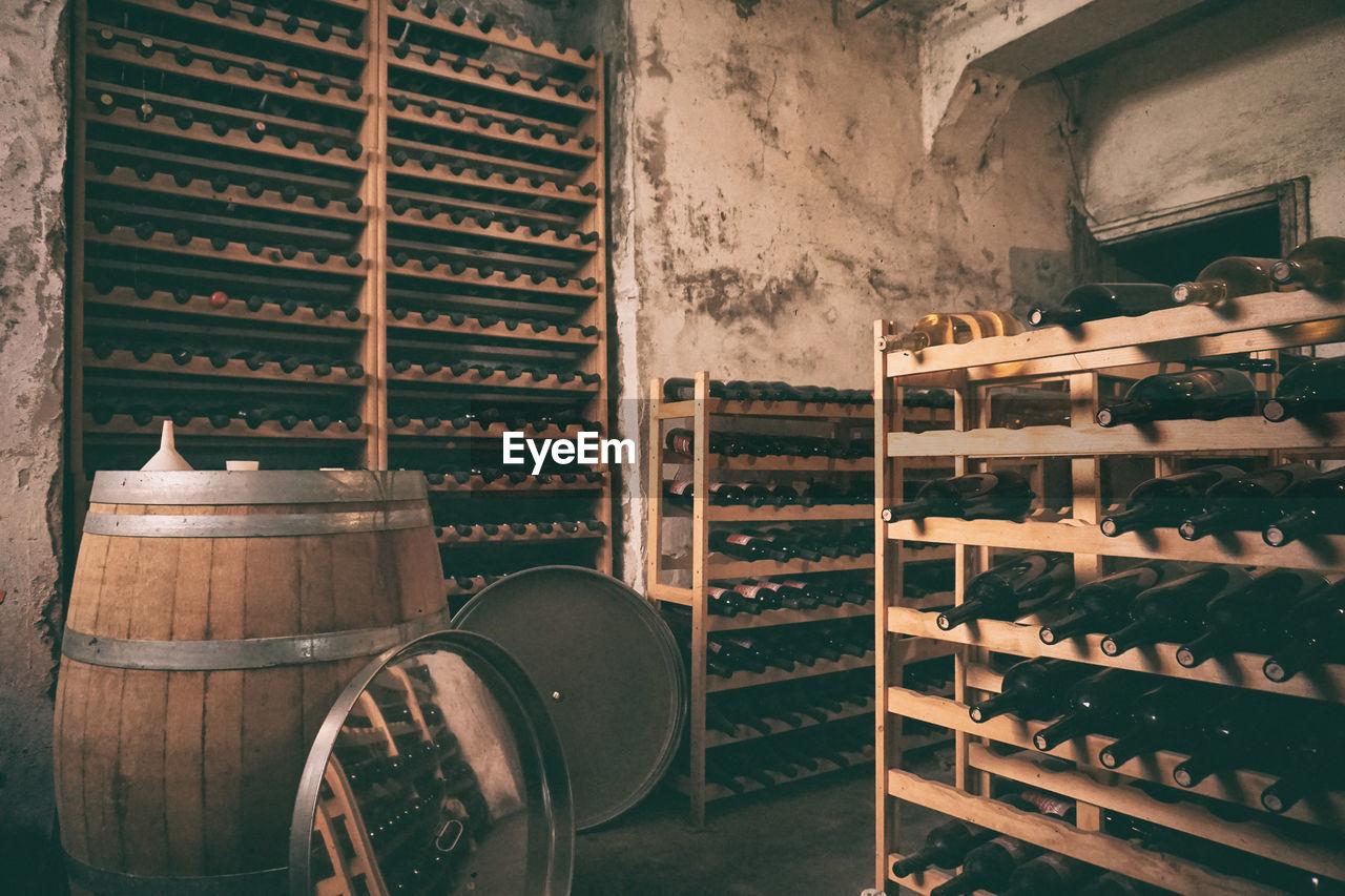 Interior Of Winery