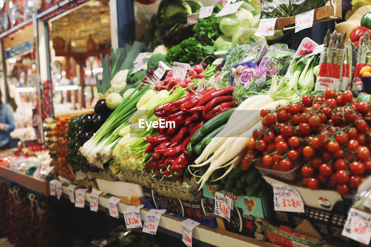 food and drink, food, retail, choice, for sale, variation, market, market stall, freshness, vegetable, healthy eating, large group of objects, abundance, wellbeing, retail display, business, fruit, arrangement, collection, red, no people, sale, consumerism