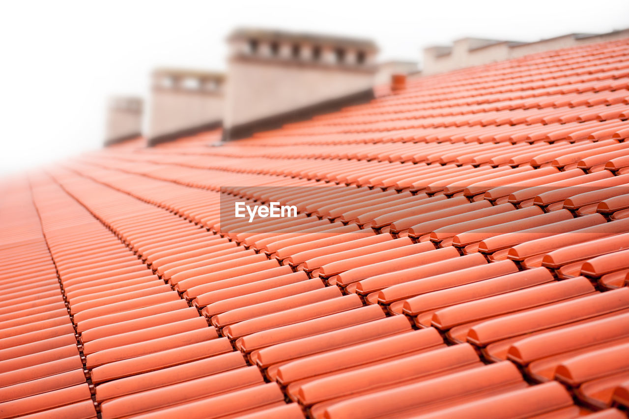 Close-Up Of Tiled Roof
