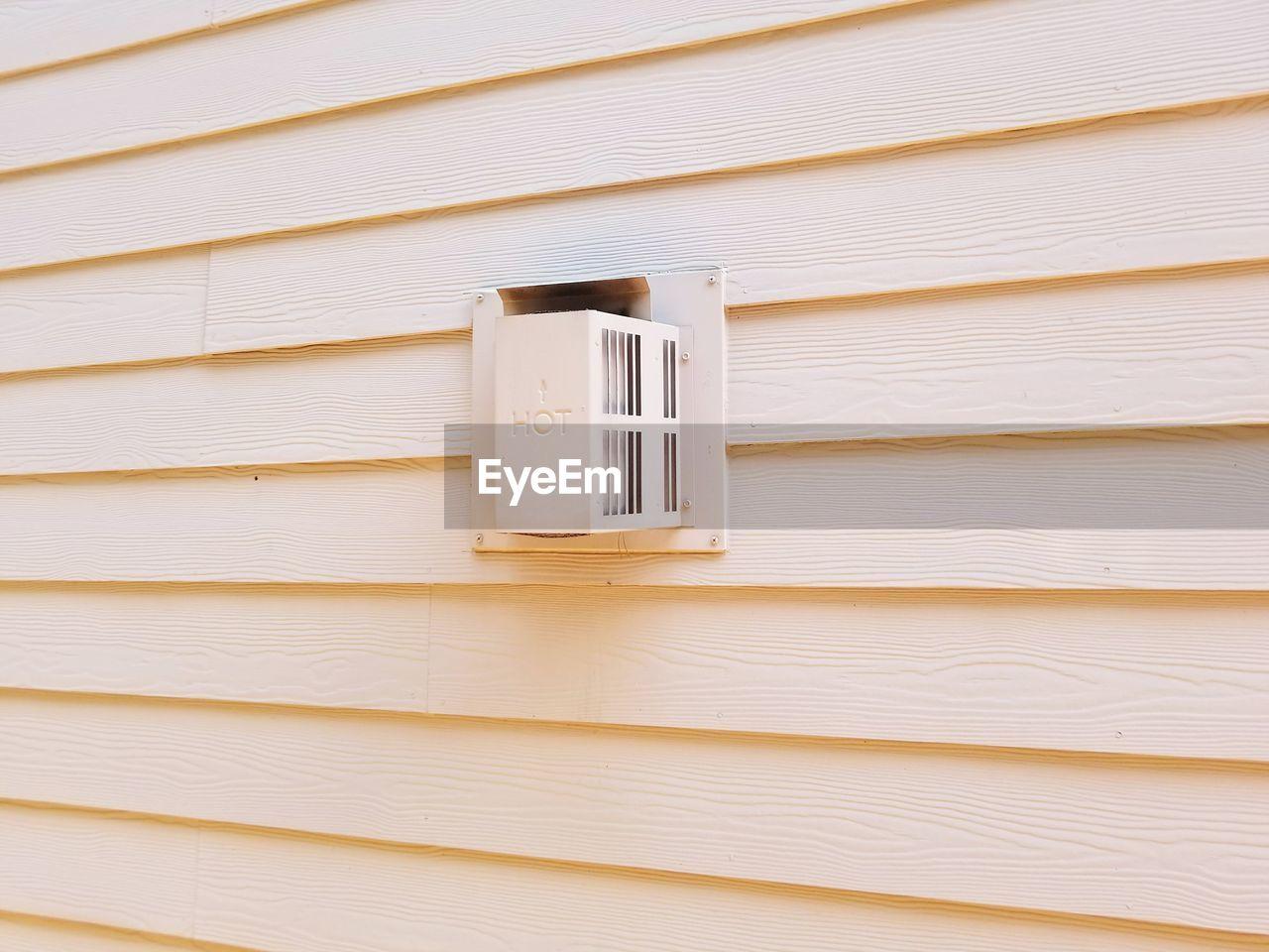 building exterior, white color, architecture, built structure, no people, communication, public mailbox, day, outdoors