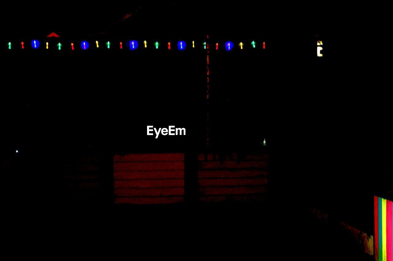 illuminated, night, dark, no people, outdoors, close-up, sky