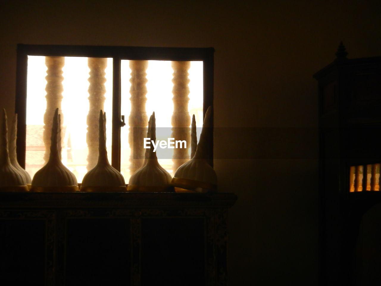 Decorations In Darkroom