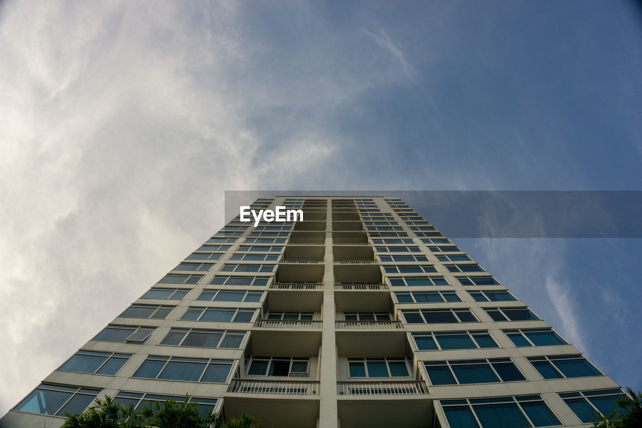 architecture, cloud - sky, built structure, building exterior, sky, low angle view, building, window, no people, city, nature, modern, day, outdoors, tall - high, office, opportunity, office building exterior, tower, glass - material, apartment