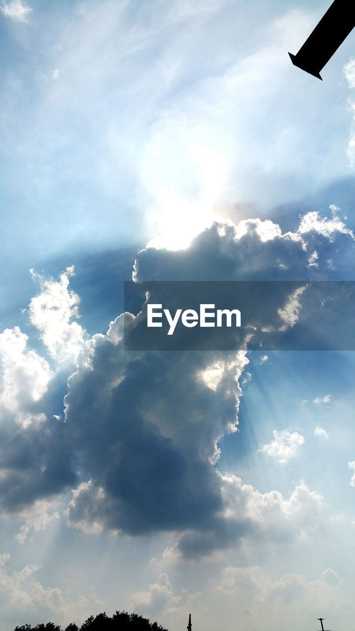cloud - sky, sky, nature, beauty in nature, scenics, day, tranquility, no people, outdoors, low angle view, sky only, sunlight