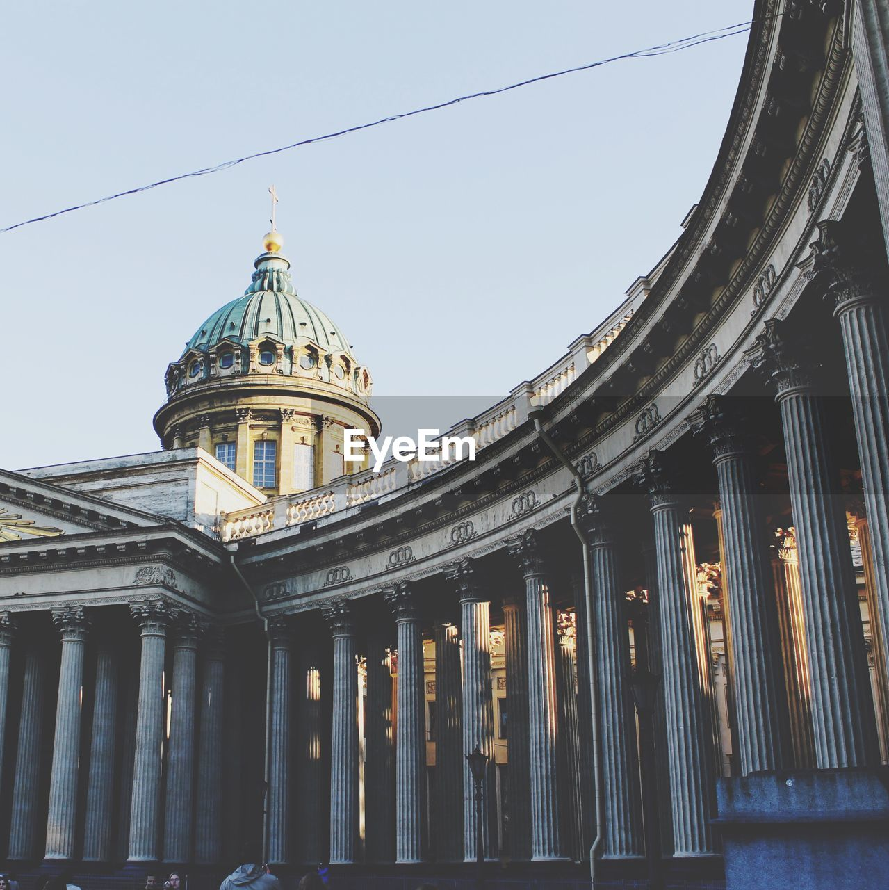 Low Angle View Of Kazan Cathedral Against Sky