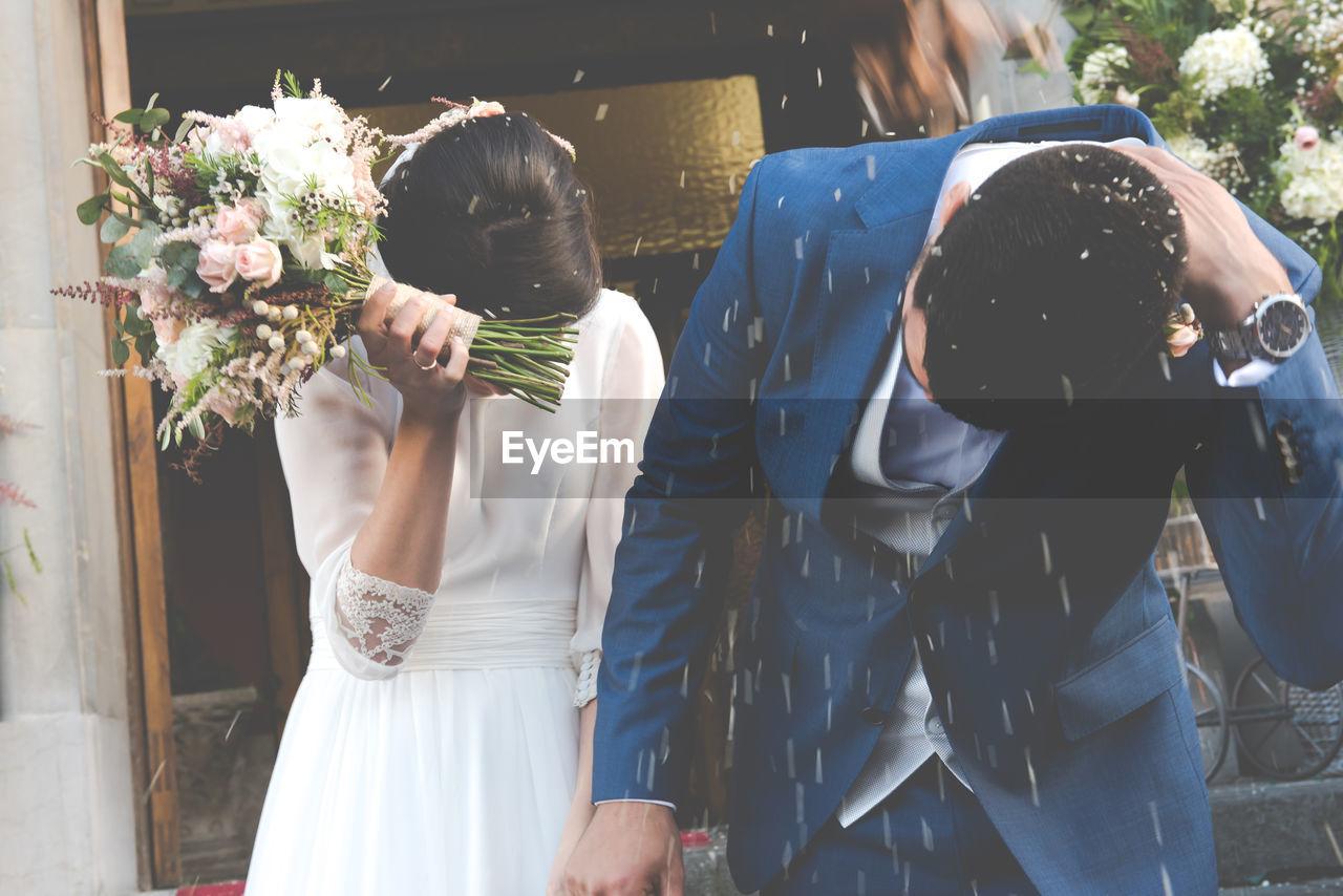 View Of Wedding Couple