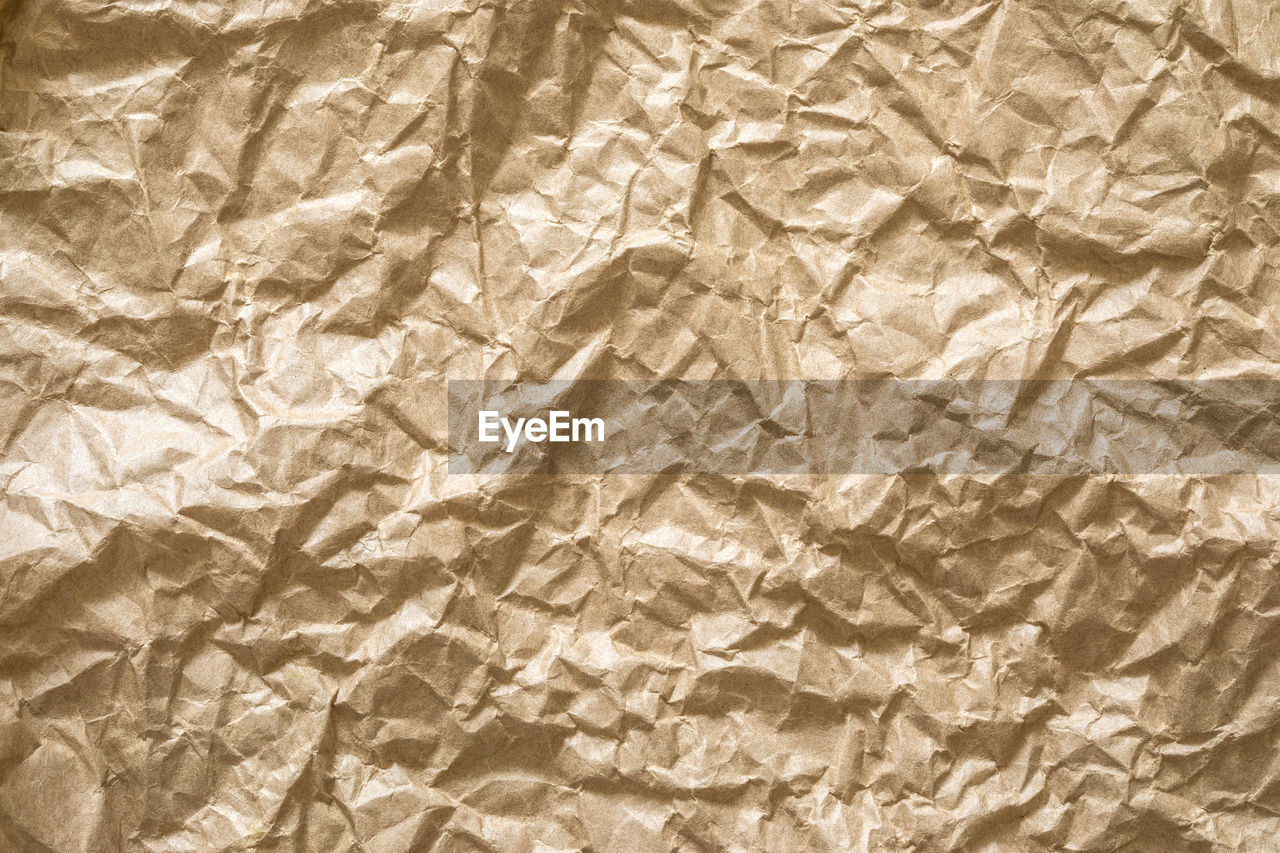 crumpled, paper, wrinkled, textured, backgrounds, crumpled paper, full frame, pattern, crushed, no people, textile, brown paper, material, abstract, indoors, folded, bed, rough, linen, dirt, blank, wrapping paper, textured effect, ruined