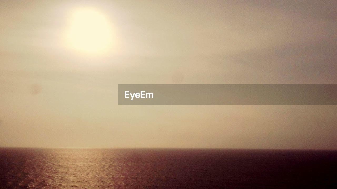 sea, sun, freedom, nature, horizon, water, horizon over water, sky, sunset, scenics, clear sky, beauty in nature, no people, outdoors