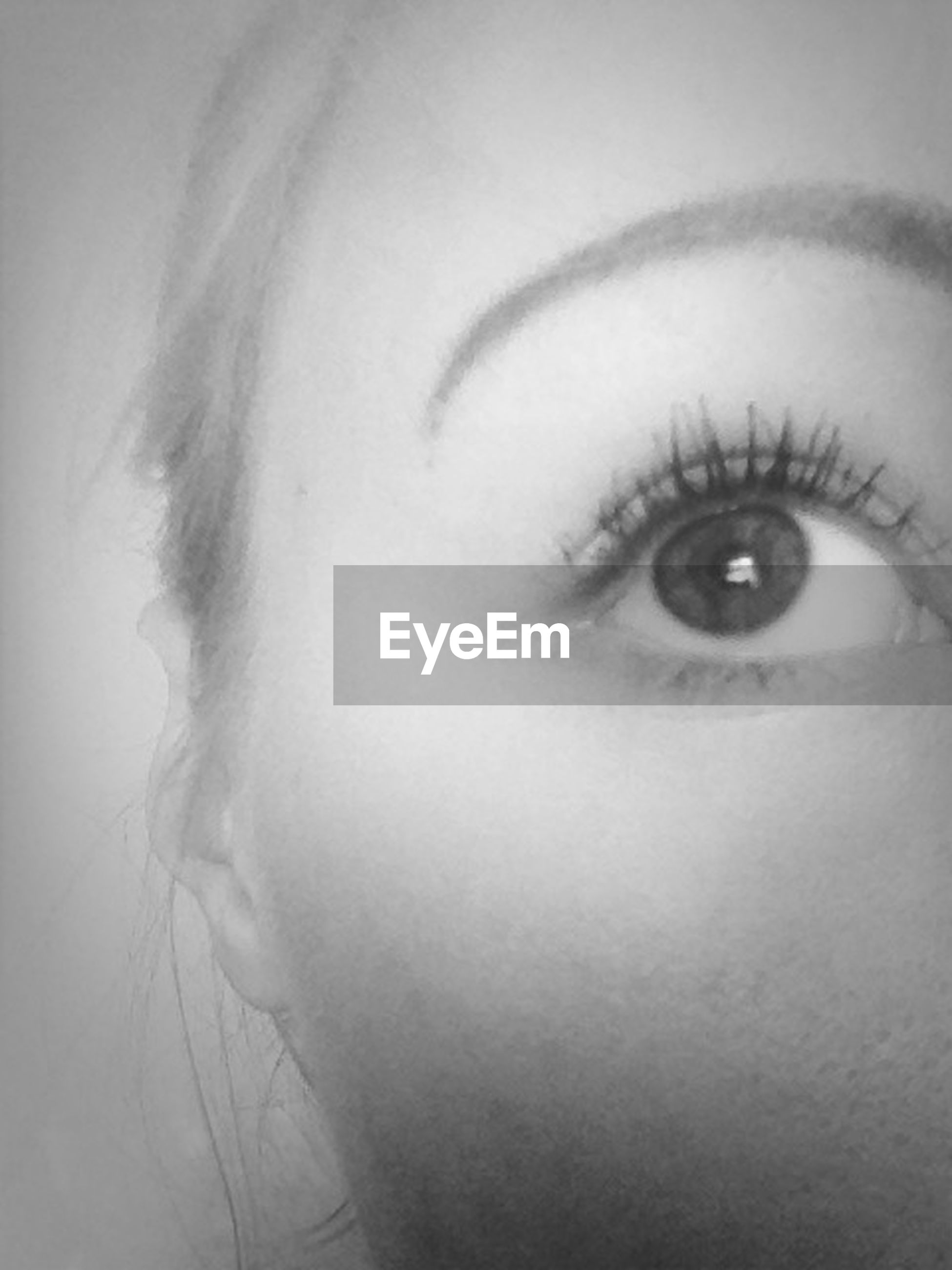 human eye, close-up, looking at camera, headshot, human face, portrait, young adult, lifestyles, indoors, person, eyelash, human skin, front view, young women, part of, leisure activity, eyesight