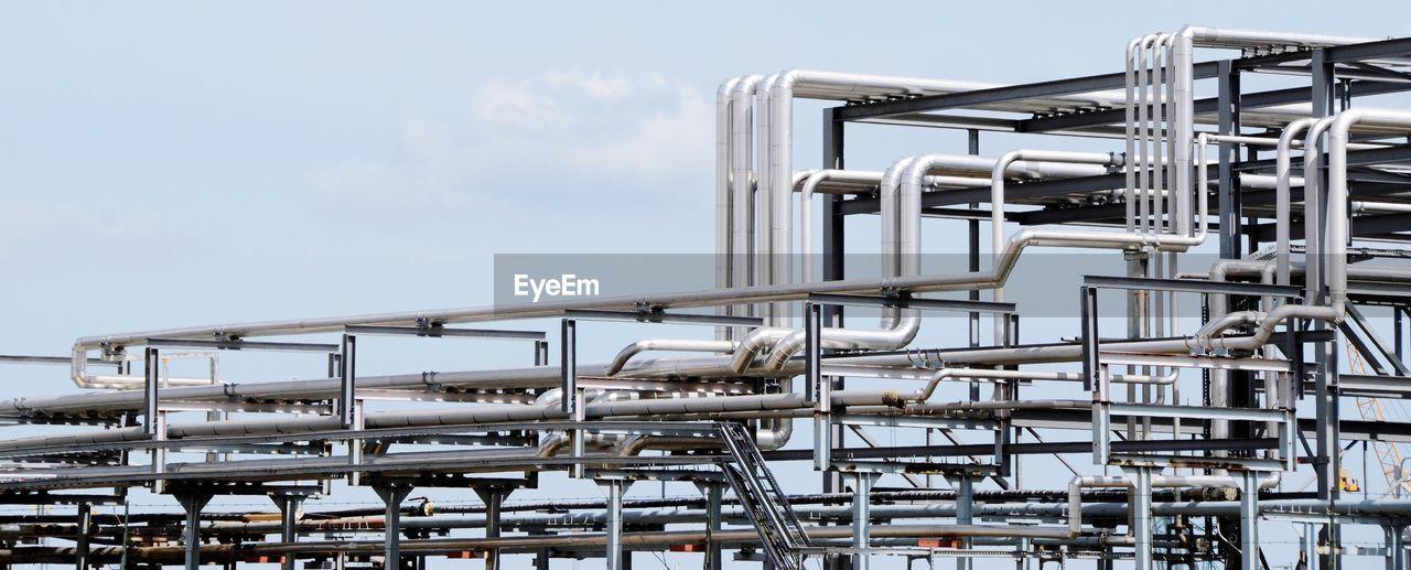Chemical Plant Against Sky