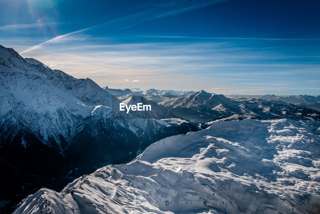 cold temperature, winter, scenics - nature, mountain, snow, beauty in nature, tranquil scene, sky, mountain range, tranquility, environment, snowcapped mountain, cloud - sky, landscape, non-urban scene, nature, no people, white color, idyllic, mountain peak, formation