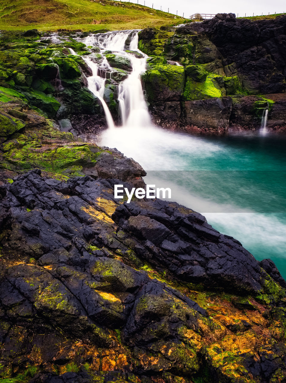 water, rock, rock - object, waterfall, scenics - nature, motion, solid, beauty in nature, long exposure, blurred motion, rock formation, flowing water, nature, power, power in nature, land, non-urban scene, no people, forest, outdoors, flowing, falling water, purity
