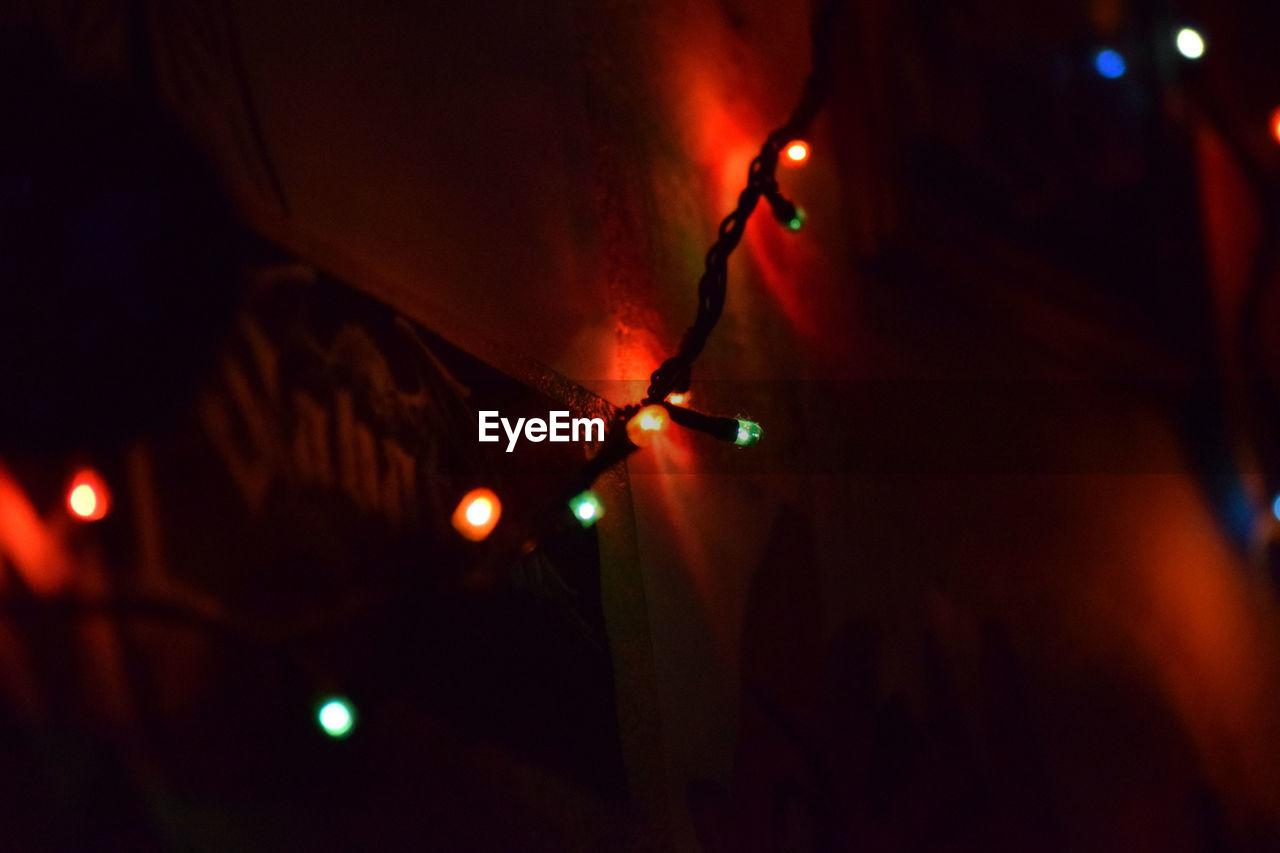 illuminated, night, lighting equipment, celebration, no people, close-up, indoors