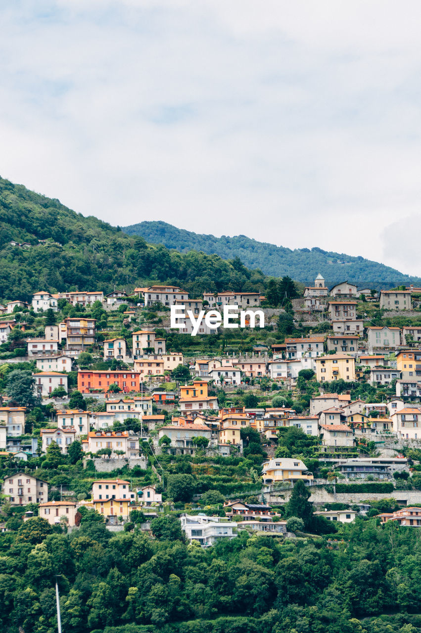 Old Residential District From Lombardy
