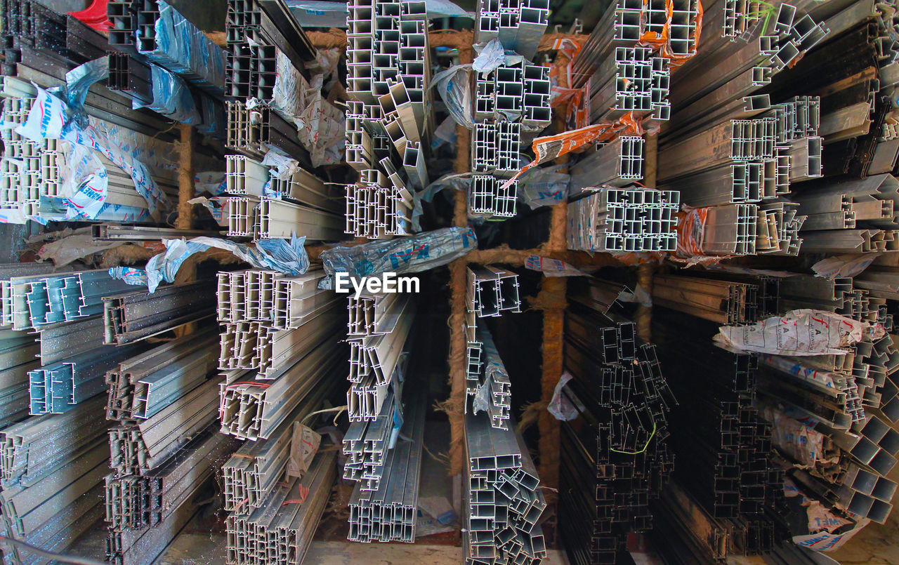Various Pipe Metal In Warehouse