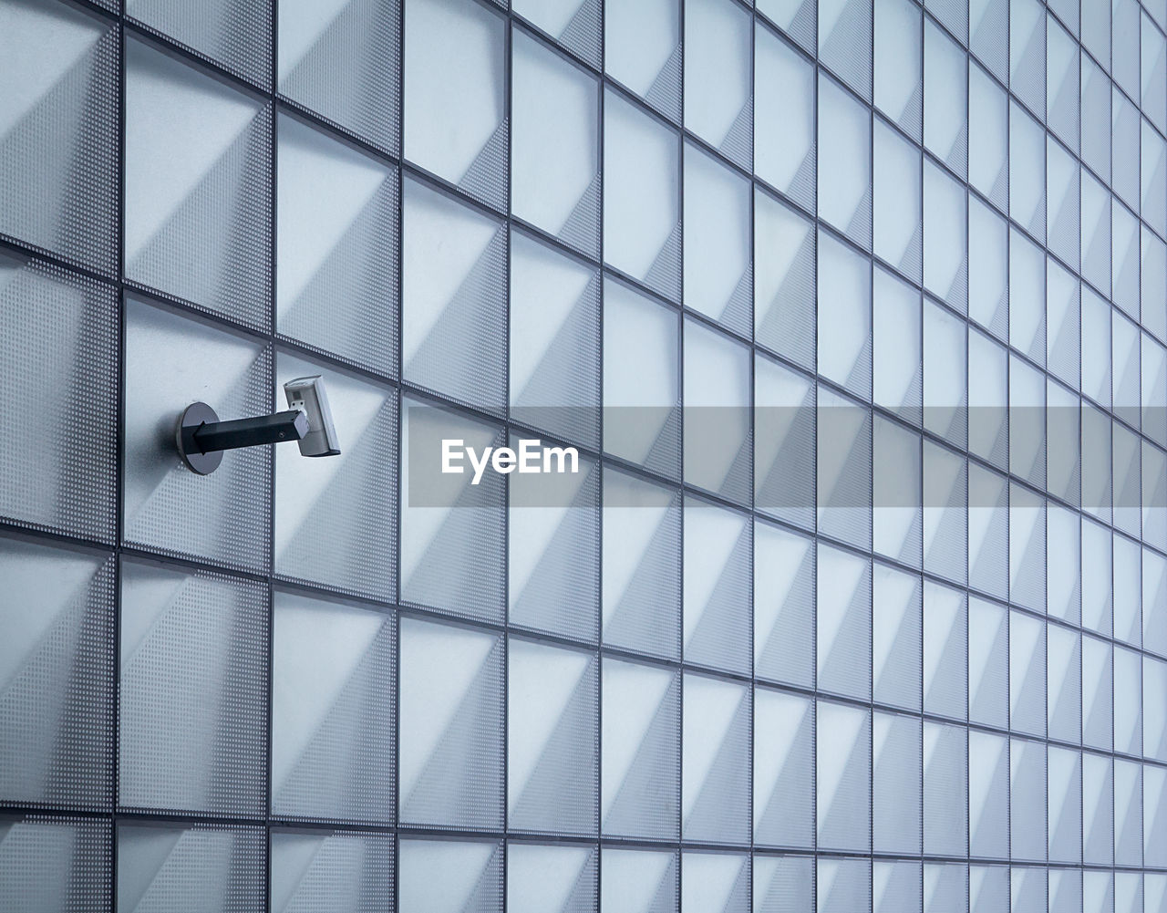 Security Camera On Modern Wall