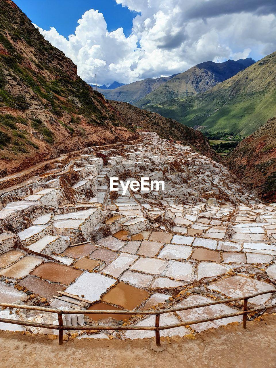 The salt mines of maras