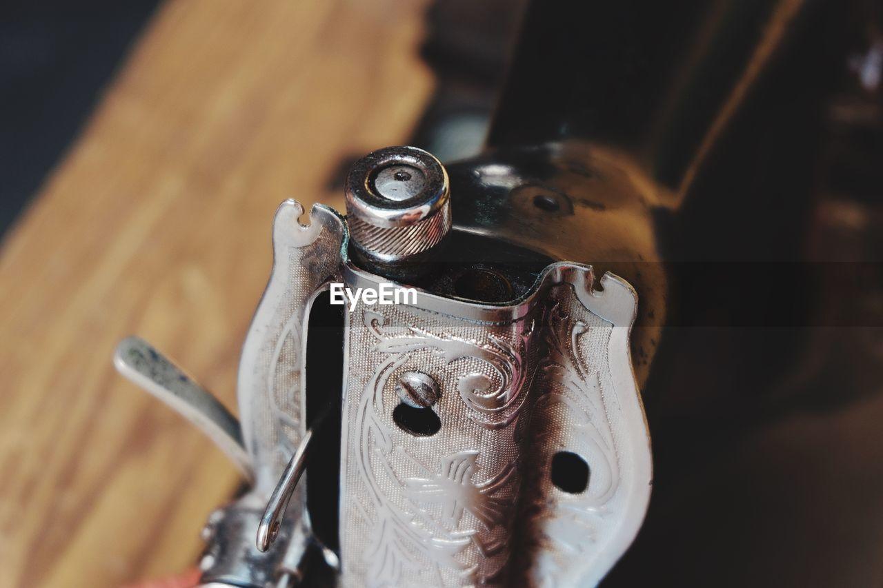 Close Up Of Cigarette Lighter