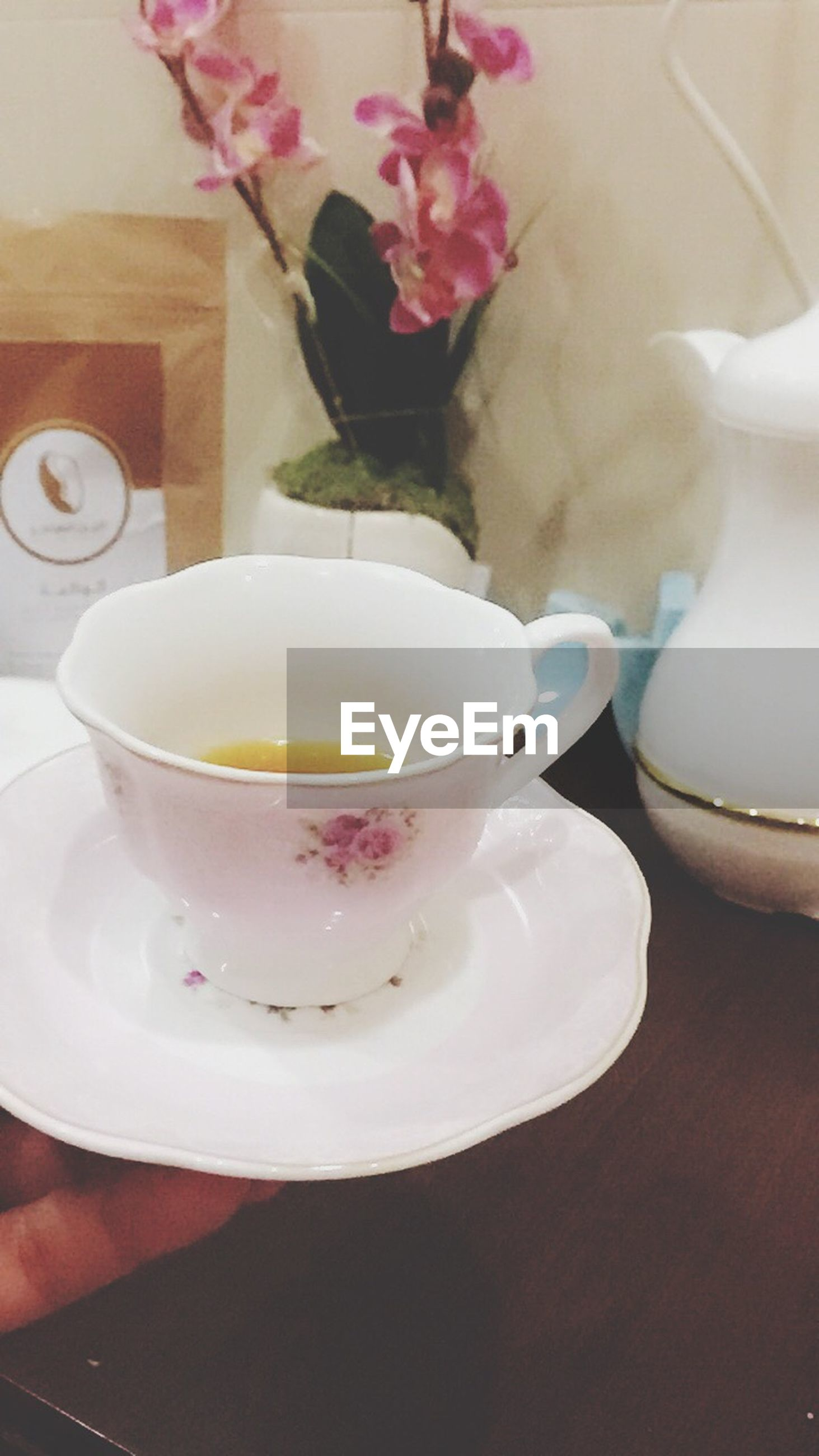 flower, indoors, food and drink, freshness, sweet food, food, close-up, dessert, fragility, plate, no people, drink, table, ready-to-eat, day