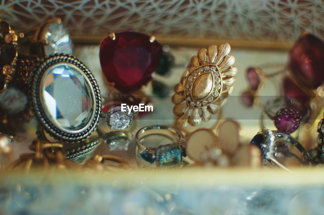 Detail Shot Of Jewellery