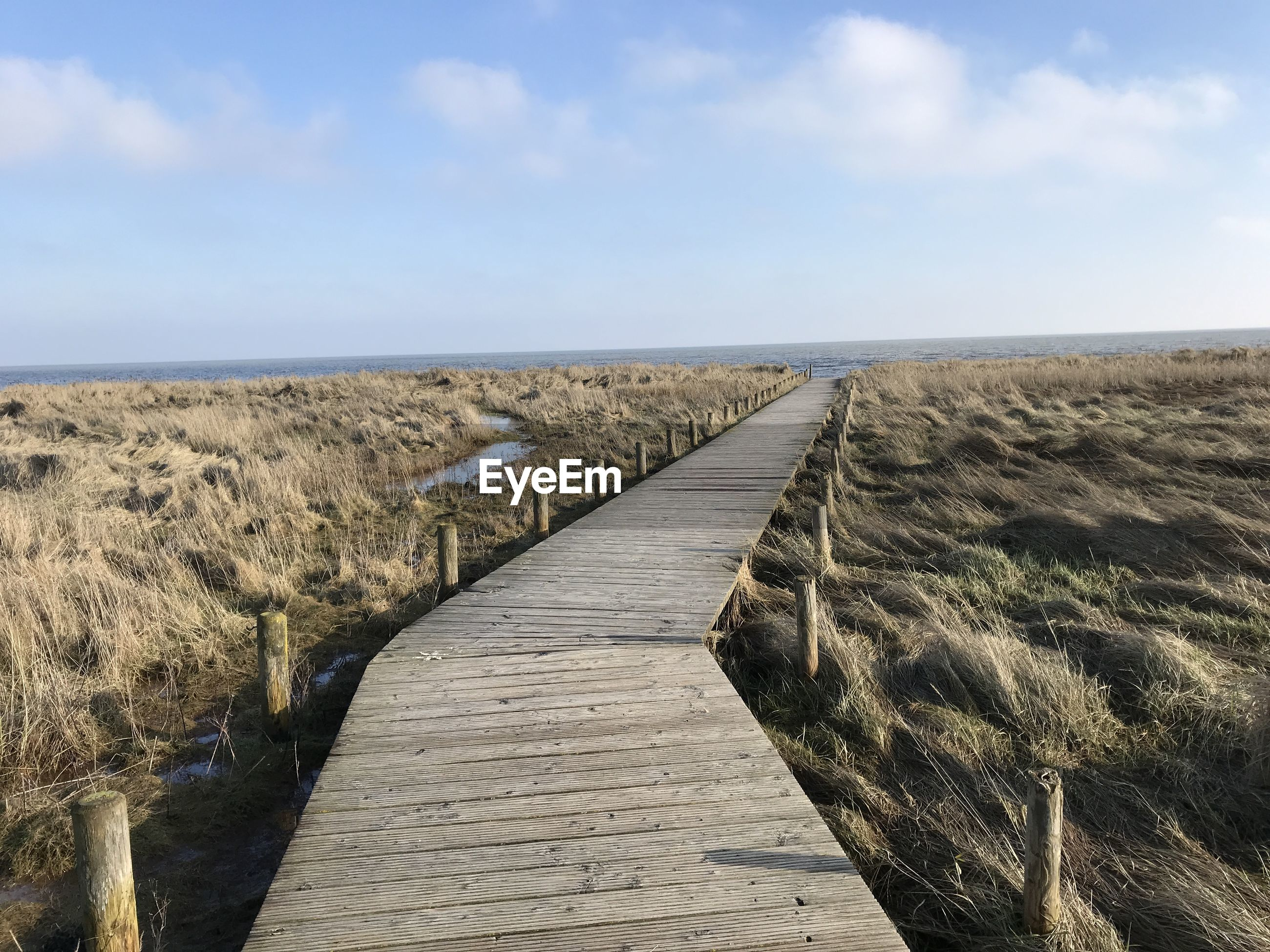 BOARDWALK LEADING TO BEACH