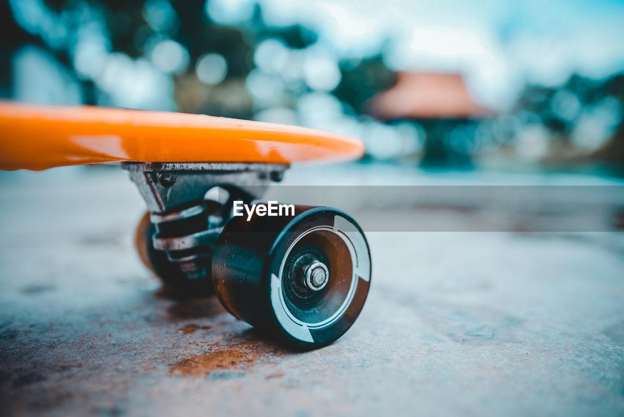 Close-Up Of Skateboard