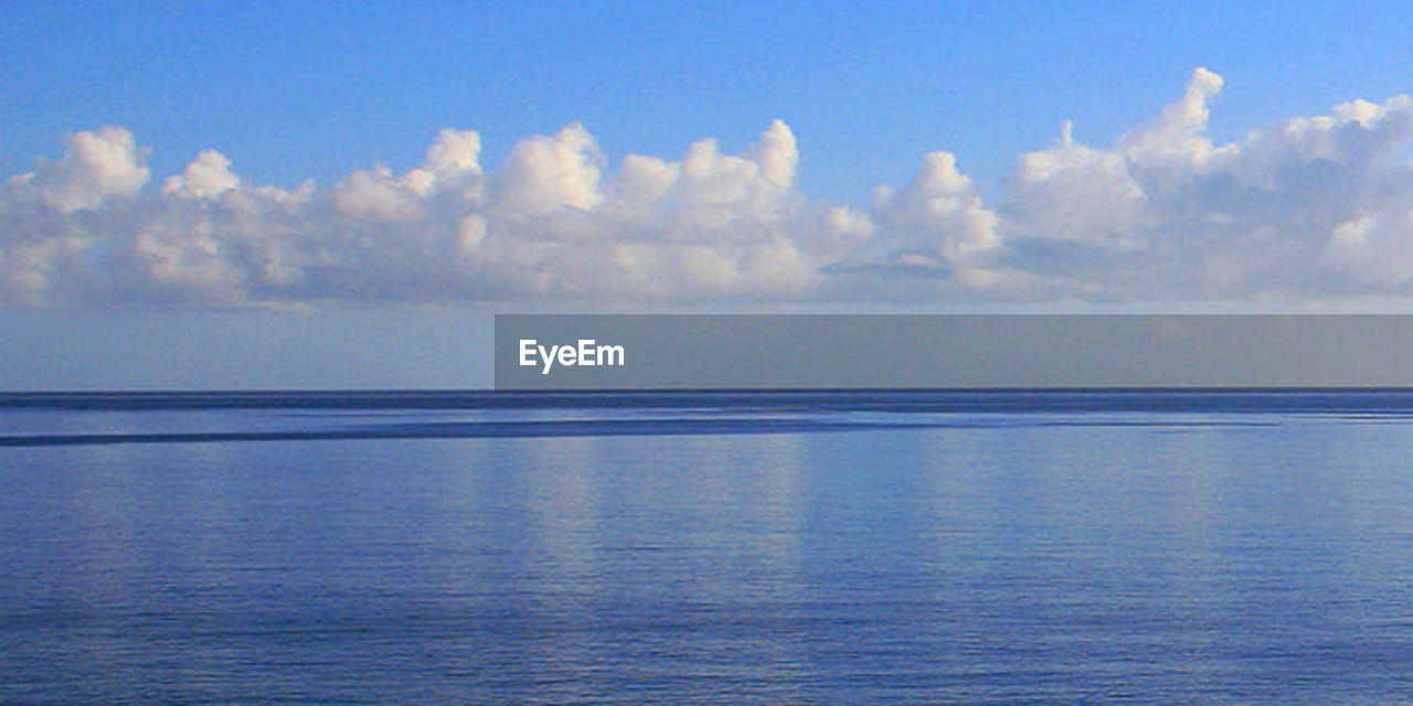 water, sea, sky, cloud - sky, horizon over water, horizon, scenics - nature, beauty in nature, tranquility, tranquil scene, blue, nature, no people, outdoors, idyllic, seascape, reflection, day, softness