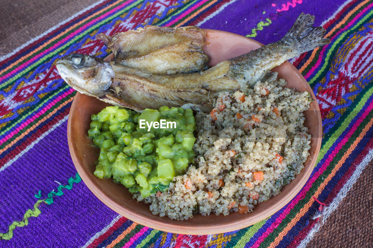 food and drink, food, healthy eating, animal, mexican food, vegetable, seafood, fruit, ready-to-eat, close-up, indoors, vertebrate, no people, multi colored, high angle view, meat, wellbeing, meal, dinner