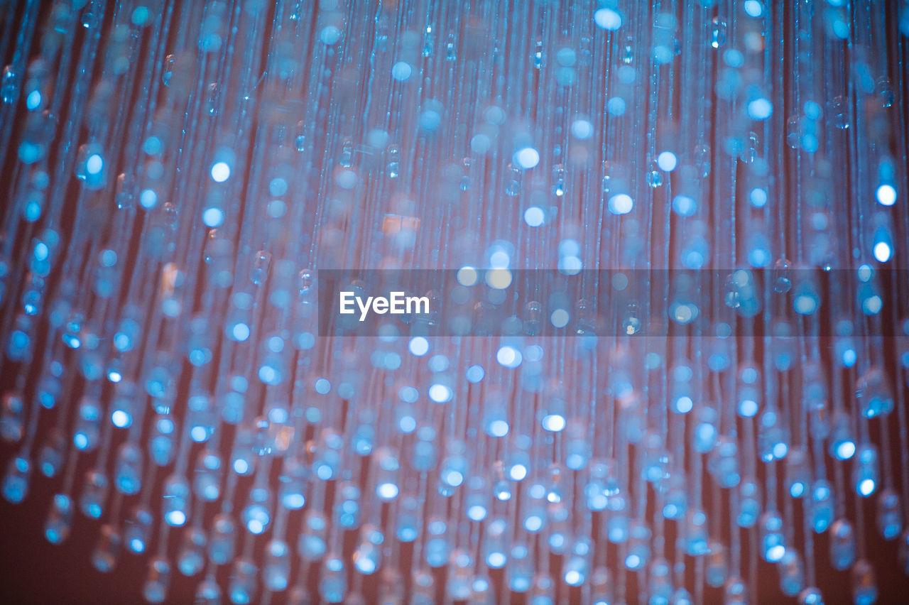 Defocused Image Of Illuminated Fiber Optic