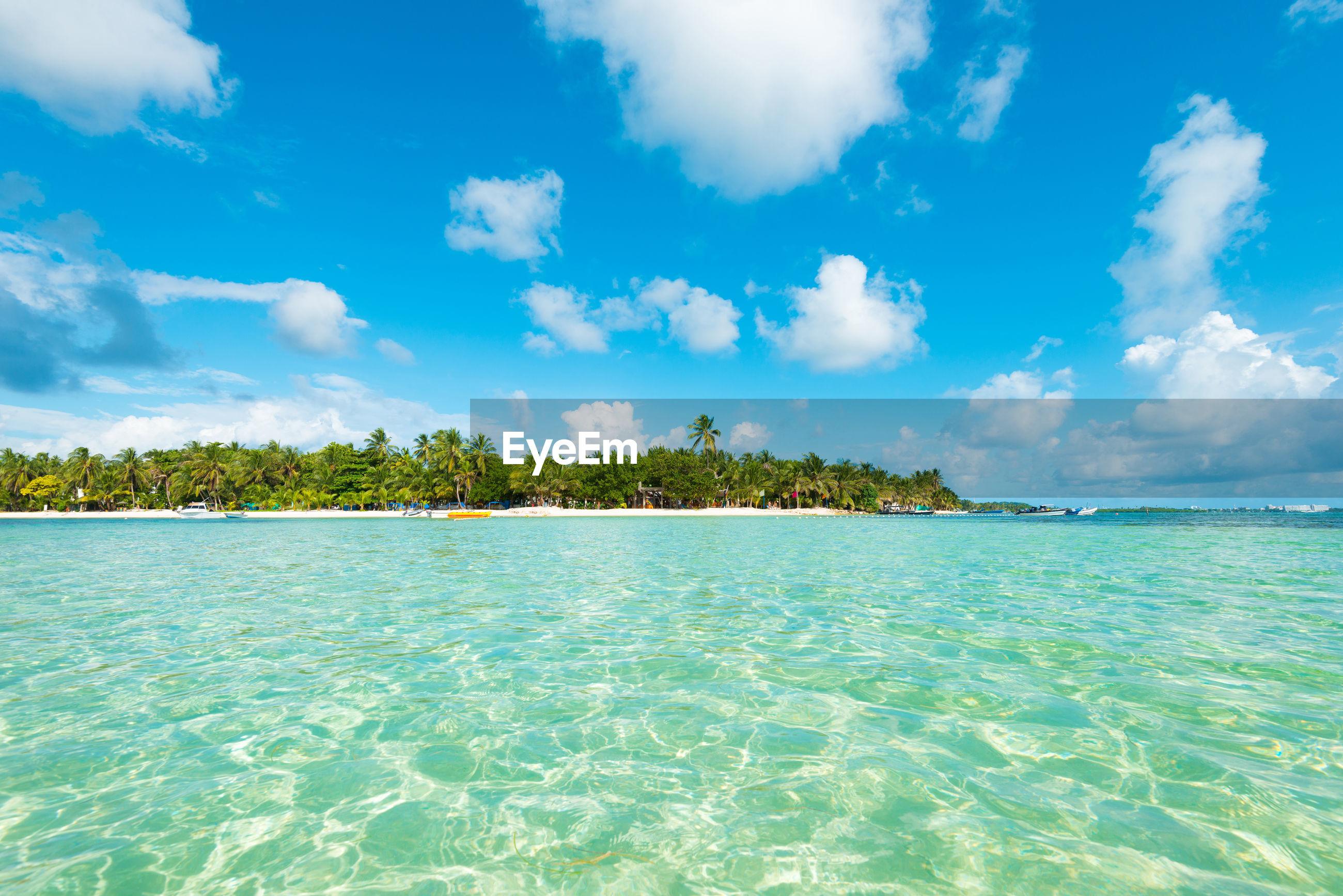 SCENIC VIEW OF BLUE SEA