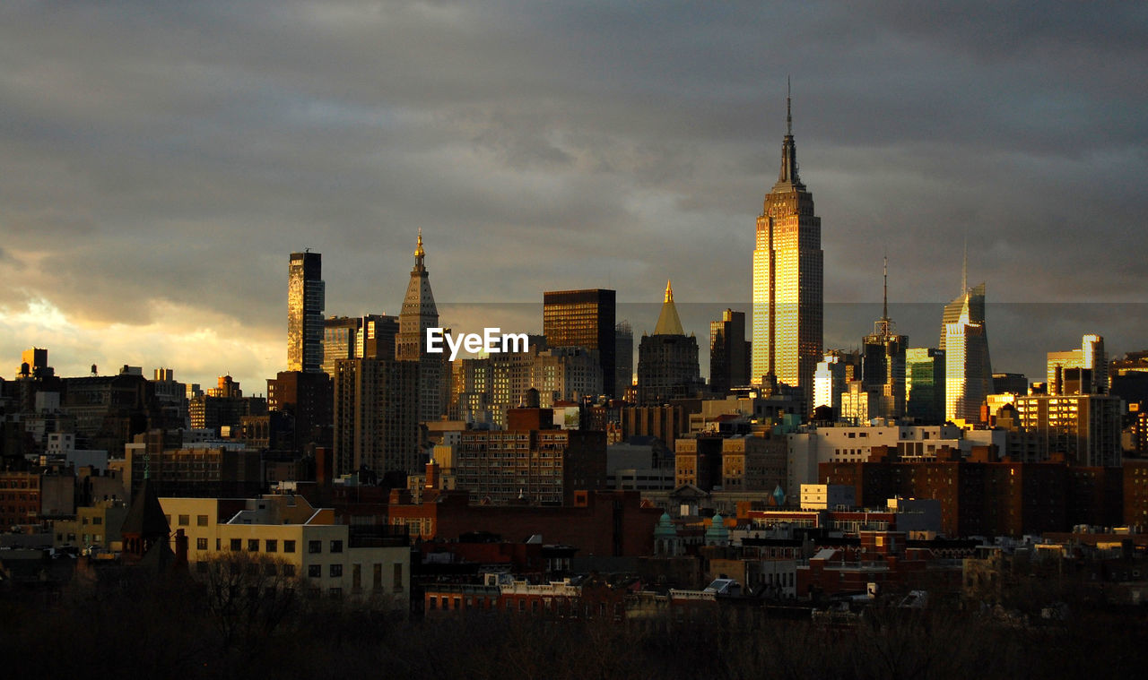 View Of Cityscape With Empire State Building