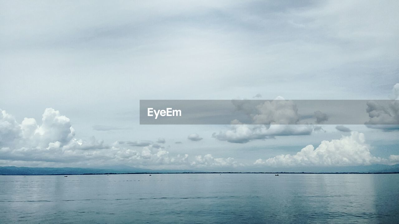 sea, sky, beauty in nature, scenics, nature, tranquility, tranquil scene, cloud - sky, water, horizon over water, no people, waterfront, outdoors, day