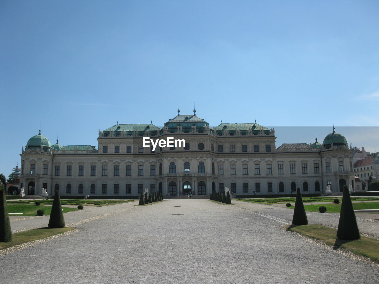 Belvedere Palace Against Sky