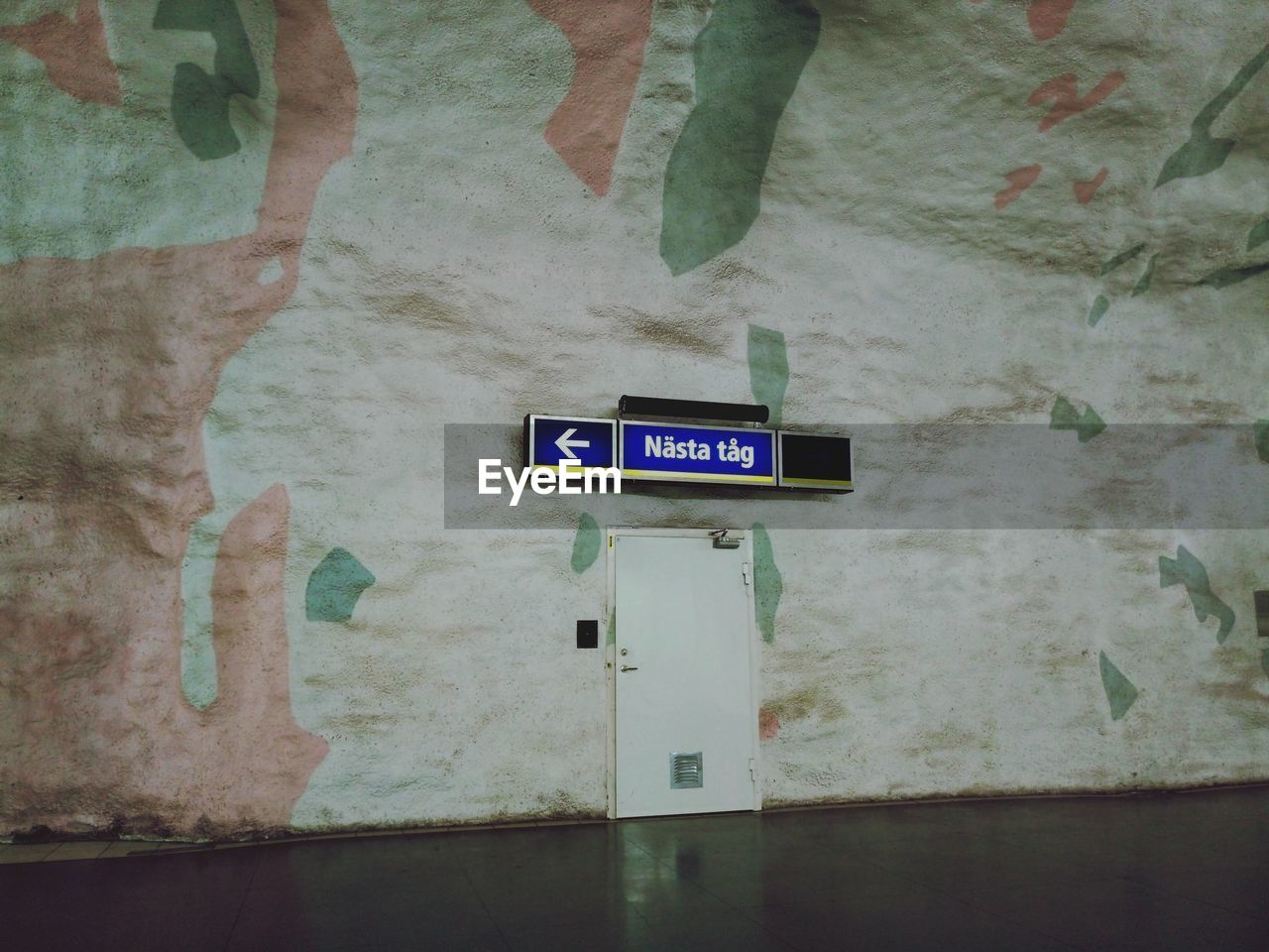 communication, text, indoors, guidance, direction, exit sign, restroom sign, no people, road sign, day, architecture, close-up