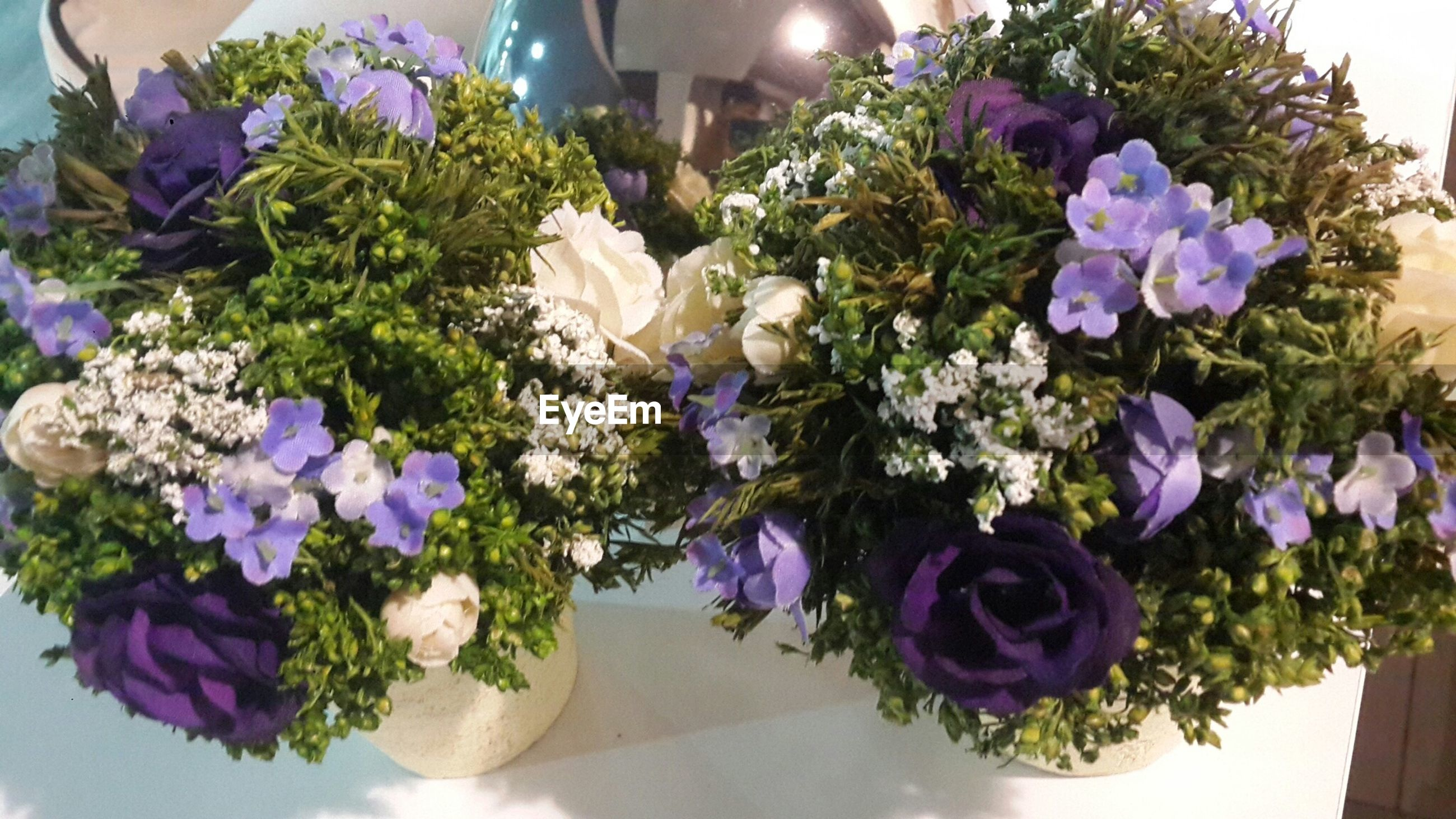 flower, freshness, fragility, purple, petal, growth, flower head, plant, beauty in nature, bunch of flowers, vase, blooming, potted plant, bouquet, nature, indoors, flower arrangement, leaf, in bloom, hydrangea