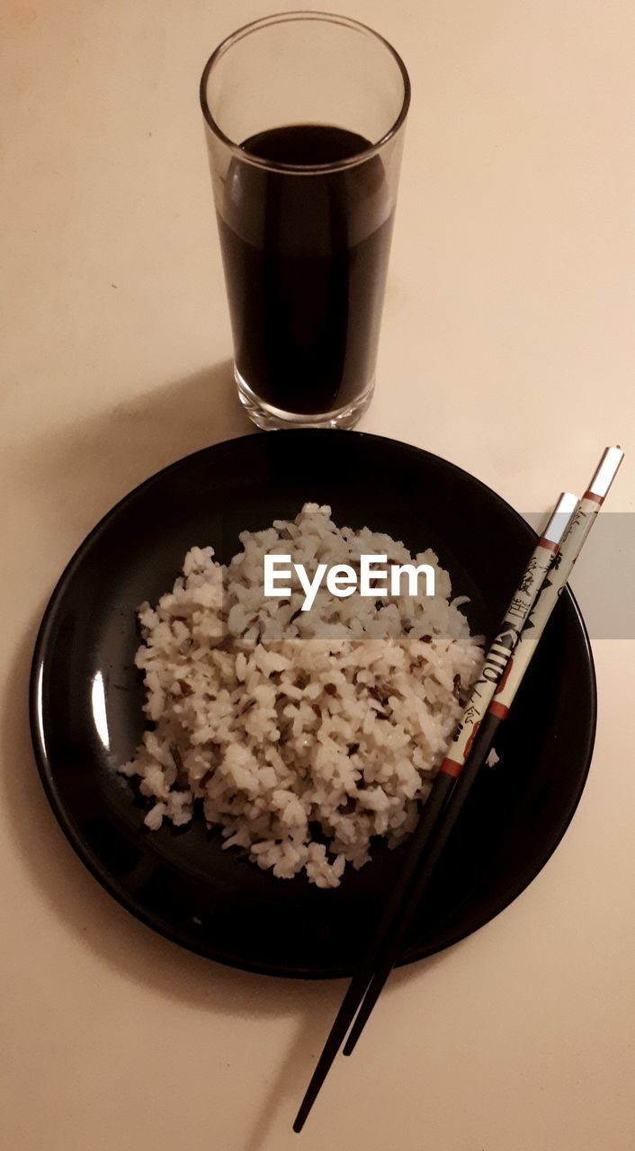 food and drink, bowl, food, no people, drink, healthy eating, rice, serving size, table, plate, indoors, freshness, breakfast, ready-to-eat, close-up